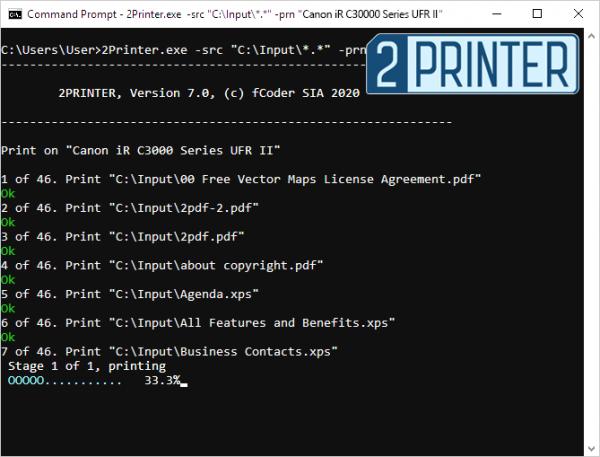 2Printer 7.0 – eine Kommandozeilen-Alternative zu Print Conductor